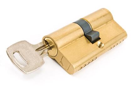 Schließzylinder mit Schlüssel