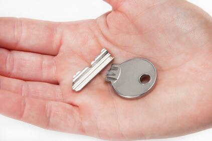 Gebrochener Schlüssel