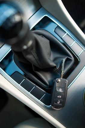 Autoschlüssel im Auto vergessen